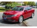 Lincoln MKS EcoBoost AWD Ruby Red photo #3