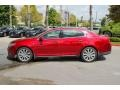 Lincoln MKS EcoBoost AWD Ruby Red photo #4