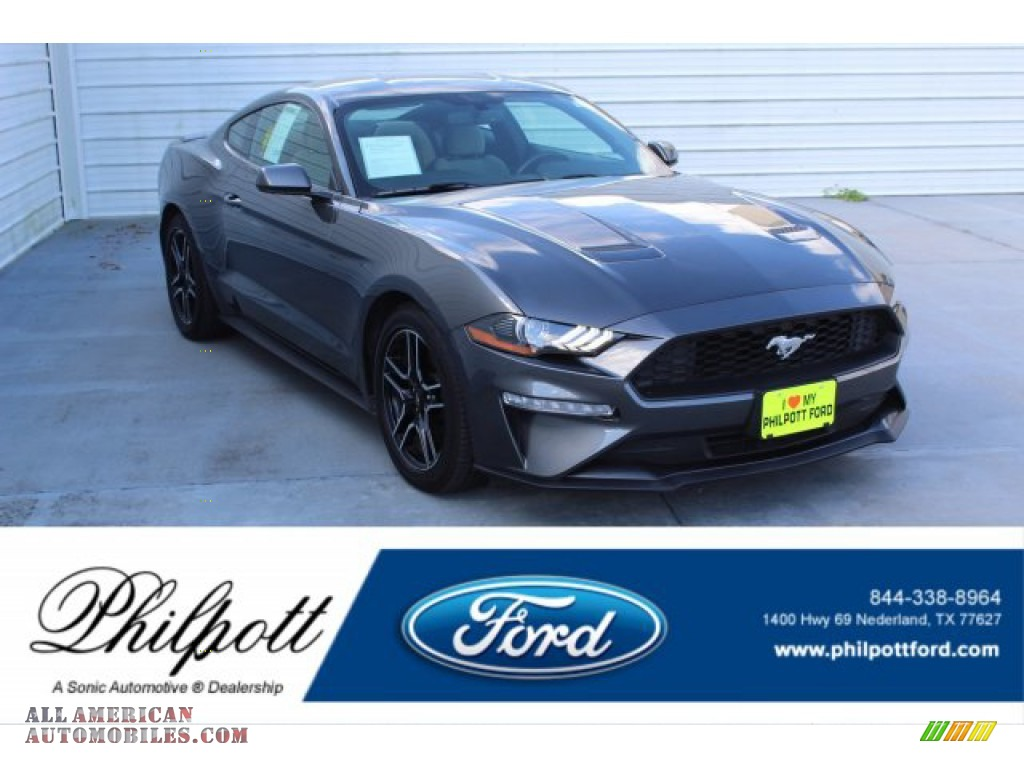 2018 Mustang EcoBoost Fastback - Magnetic / Ceramic photo #1