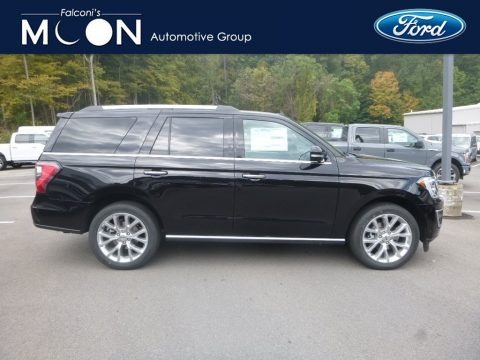 Agate Black Metallic 2019 Ford Expedition Limited 4x4