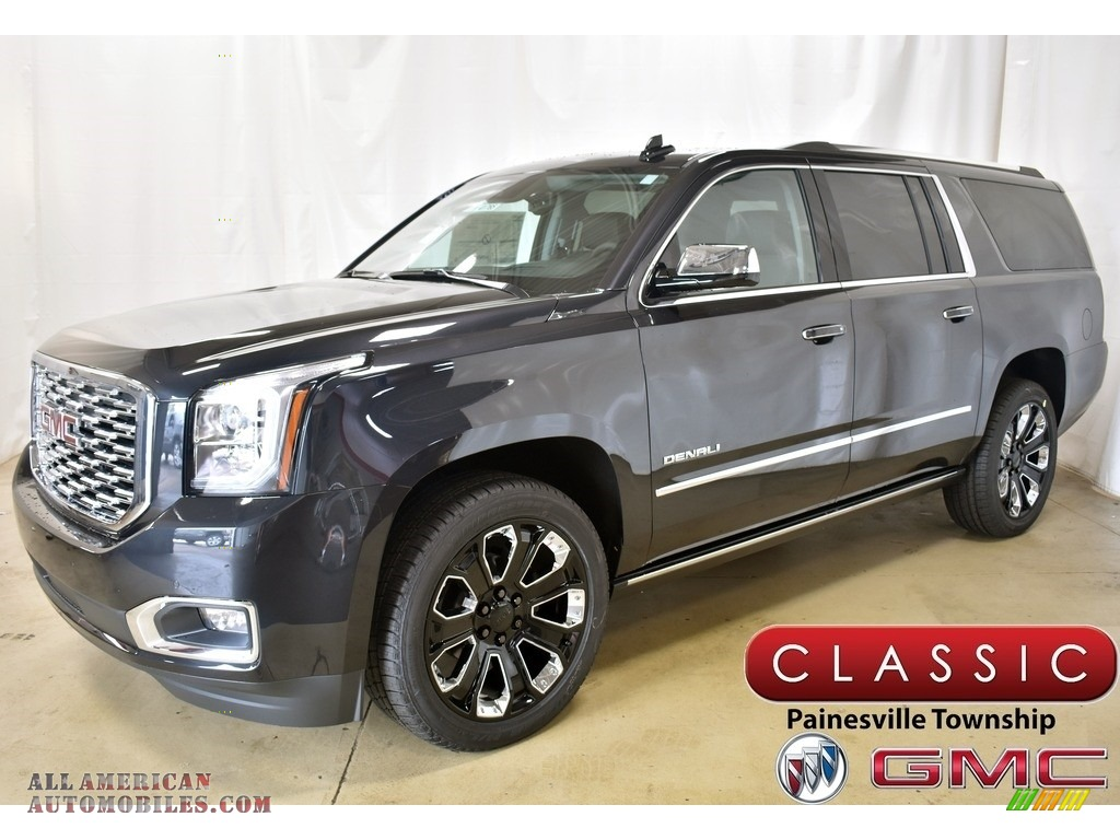 2020 Yukon XL Denali 4WD - Carbon Black Metallic / Jet Black photo #1