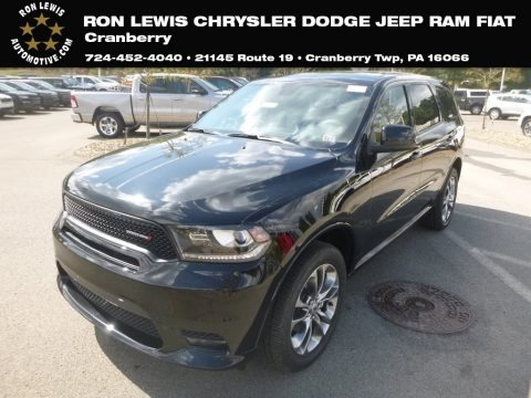 DB Black 2020 Dodge Durango GT AWD
