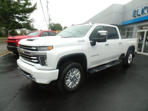 Summit White 2020 Chevrolet Silverado 2500HD High Country Crew Cab 4x4