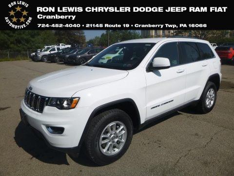 Bright White 2020 Jeep Grand Cherokee Laredo 4x4