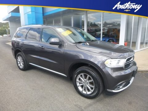 Granite Metallic 2017 Dodge Durango SXT AWD