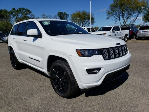 Bright White 2020 Jeep Grand Cherokee Altitude 4x4