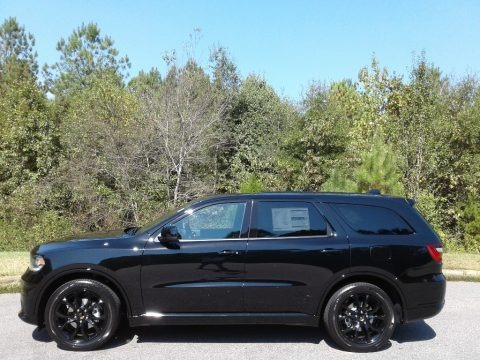 DB Black 2020 Dodge Durango GT