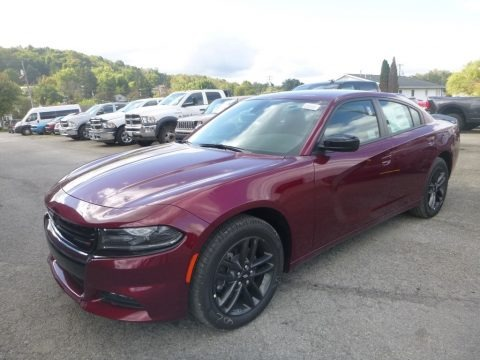 Octane Red Pearl 2019 Dodge Charger SXT AWD