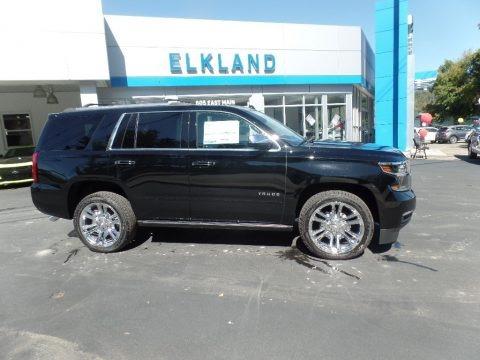 Black 2020 Chevrolet Tahoe Premier 4WD