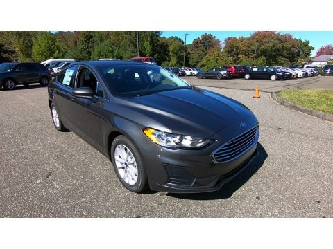 Magnetic Metallic 2020 Ford Fusion SE