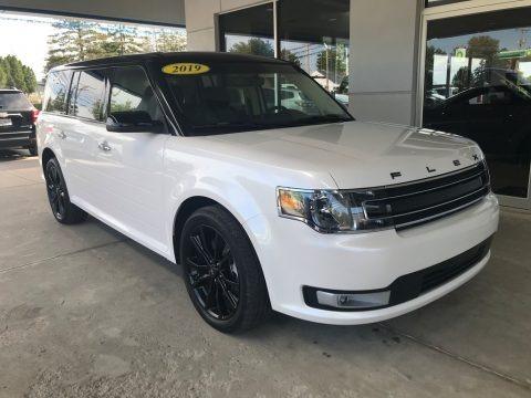 Oxford White 2019 Ford Flex SEL AWD