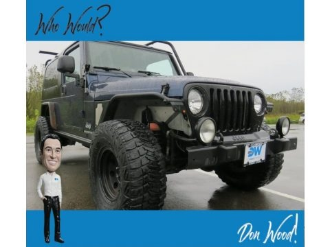 Midnight Blue Pearl 2006 Jeep Wrangler Unlimited 4x4