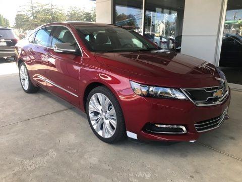 Cajun Red Tintcoat 2019 Chevrolet Impala Premier