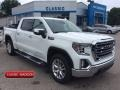 GMC Sierra 1500 SLT Crew Cab 4WD Summit White photo #1