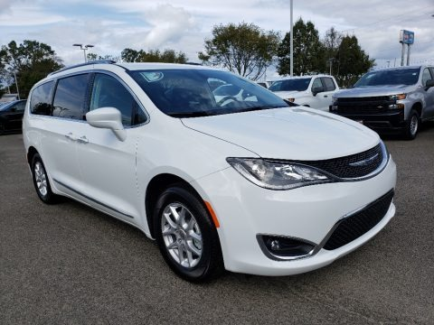 Bright White 2020 Chrysler Pacifica Touring L