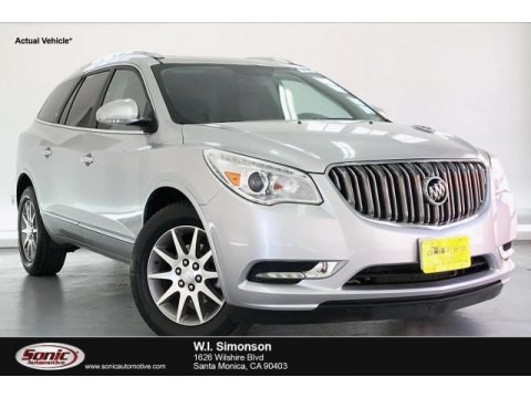 Quicksilver Metallic 2016 Buick Enclave Leather
