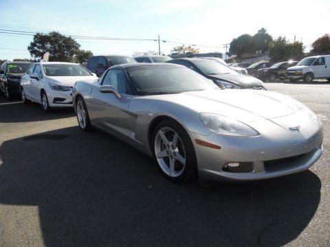 Machine Silver 2005 Chevrolet Corvette Coupe