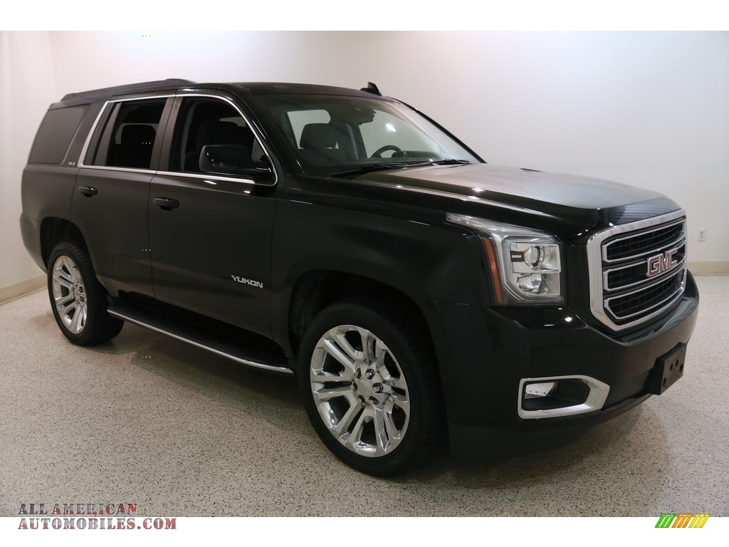 2019 Yukon SLE 4WD - Onyx Black / Jet Black photo #1