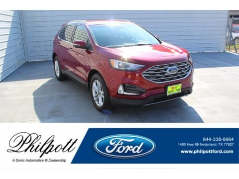 Ruby Red 2019 Ford Edge SEL