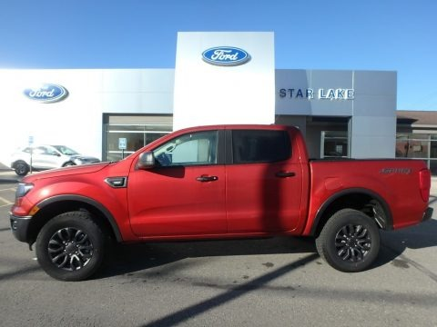 Hot Pepper Red Metallic 2019 Ford Ranger XLT SuperCrew 4x4
