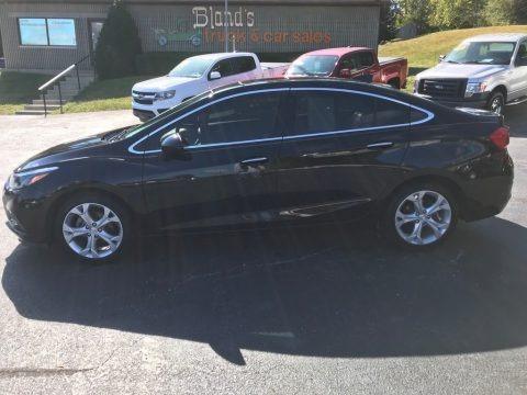 Mosaic Black Metallic 2016 Chevrolet Cruze Premier Sedan