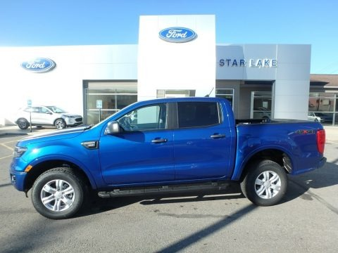 Lightning Blue Metallic 2019 Ford Ranger XLT SuperCrew 4x4