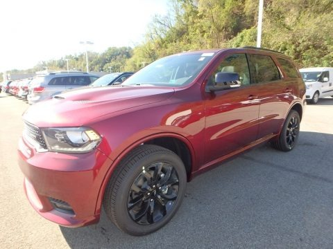 Octane Red Pearl 2020 Dodge Durango GT AWD
