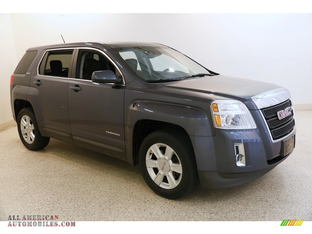 Atlantis Blue Metallic / Jet Black GMC Terrain SLE
