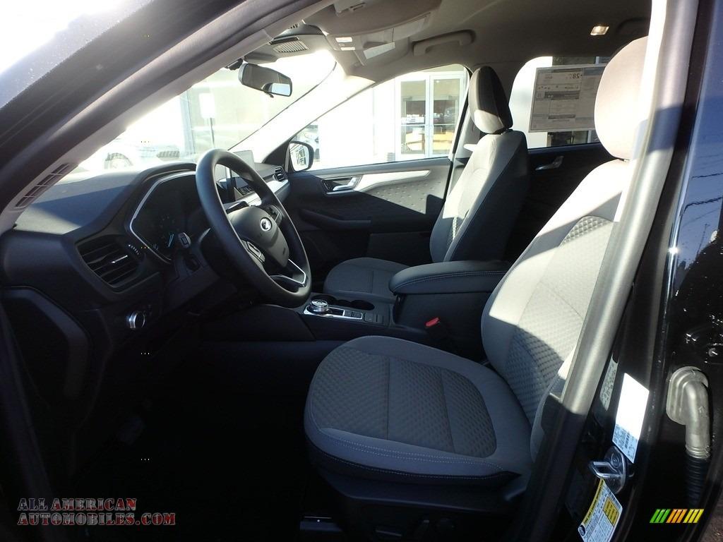 2020 Escape SE 4WD - Agate Black Metallic / Dark Earth Gray photo #12