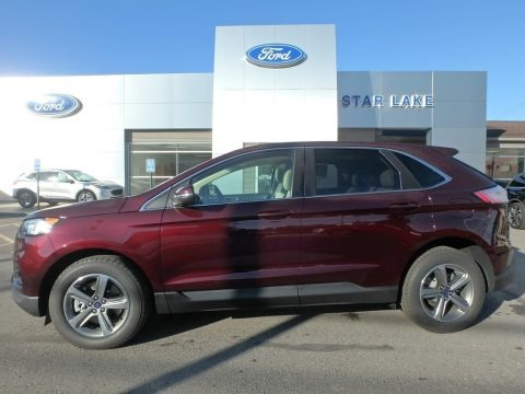 Burgundy Velvet 2019 Ford Edge SEL AWD