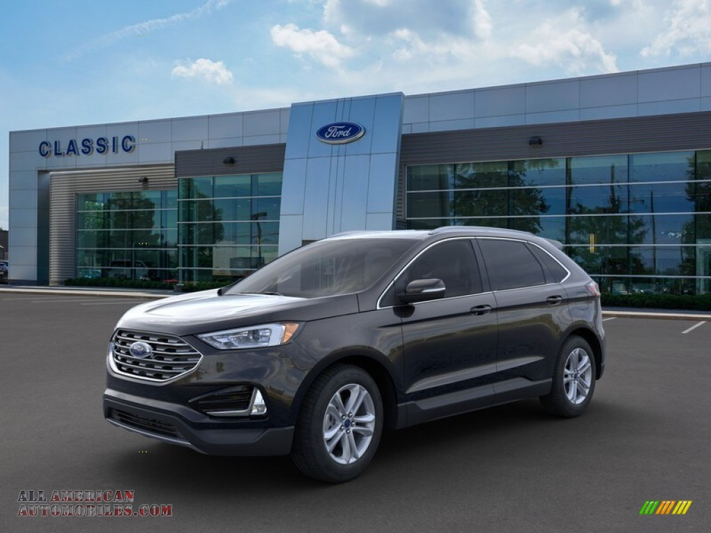 Agate Black / Ebony Ford Edge SEL AWD