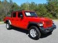 Jeep Gladiator Sport 4x4 Firecracker Red photo #4
