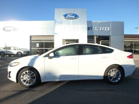 Oxford White 2020 Ford Fusion SE