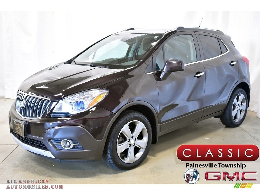 Deep Espresso Brown Metallic / Ebony Buick Encore Convenience AWD