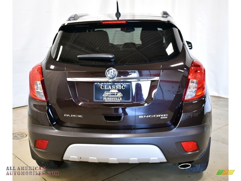 2013 Encore Convenience AWD - Deep Espresso Brown Metallic / Ebony photo #3