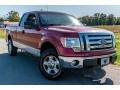 Ford F150 XL SuperCab 4x4 Red Candy Metallic photo #1