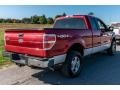 Ford F150 XL SuperCab 4x4 Red Candy Metallic photo #4