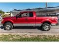 Ford F150 XL SuperCab 4x4 Red Candy Metallic photo #7