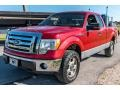 Ford F150 XL SuperCab 4x4 Red Candy Metallic photo #8