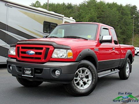 Redfire Metallic 2009 Ford Ranger FX4 Off-Road SuperCab 4x4