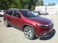 Jeep Cherokee Limited 4x4 Velvet Red Pearl photo #7
