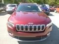 Jeep Cherokee Limited 4x4 Velvet Red Pearl photo #8