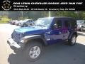 Jeep Wrangler Unlimited Sport 4x4 Ocean Blue Metallic photo #1