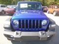 Jeep Wrangler Unlimited Sport 4x4 Ocean Blue Metallic photo #8