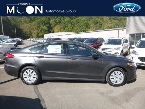 Magnetic Metallic 2020 Ford Fusion S