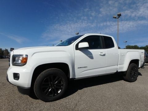 Summit White 2020 GMC Canyon SLE Extended Cab 4WD