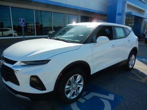 Summit White 2020 Chevrolet Blazer L