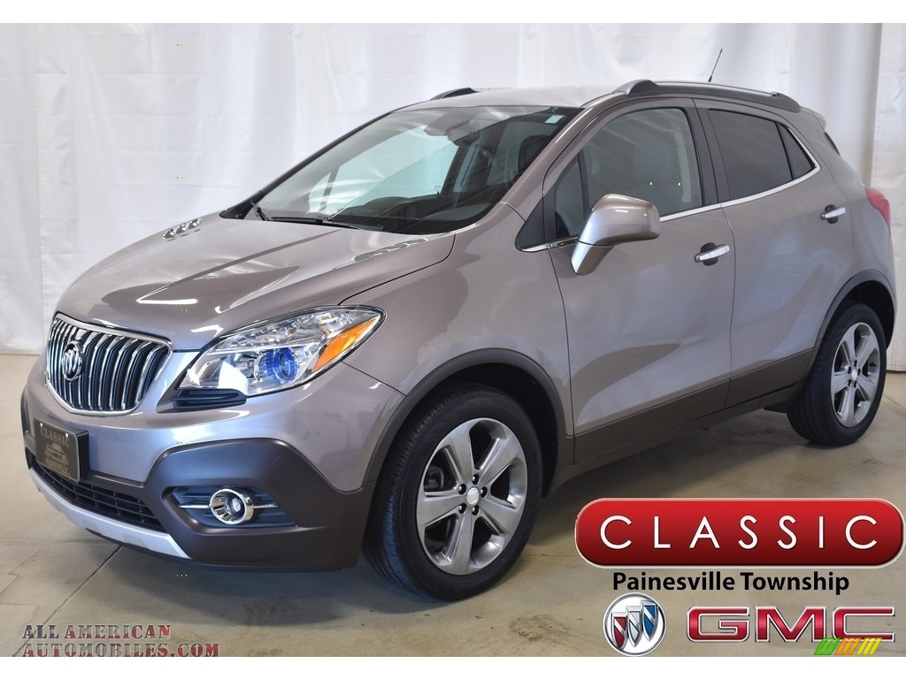 Cocoa Silver Metallic / Ebony Buick Encore Convenience