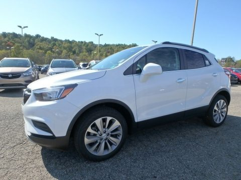 Summit White 2020 Buick Encore Preferred
