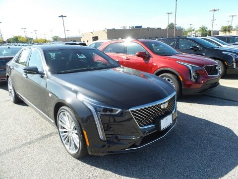 Manhattan Noir Metallic 2020 Cadillac CT6 Luxury AWD